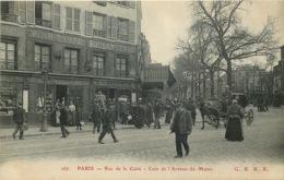 PARIS  14eme Arrondissement  Rue De La Gaieté Coin De L'avenue  Du Maine - District 14