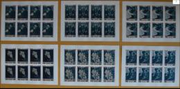 Ajman Nobel Albert Schweitzer Feuilles De 6 Imperf MNH - Albert Schweitzer