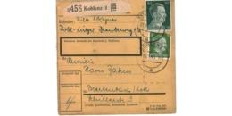 Allemagne  - Colis Postal  - Départ Koblenz  -  27-1-43 - Allemagne