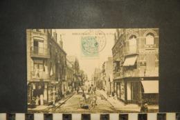 CP, 62, BERCK PLAGE La Rue De La Plage N°155 Edition Papeterie Carnot - Berck