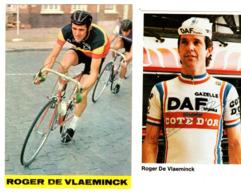 Wielrenner - ROGER DE VLAEMINCK - Met Handtekening - Cycling