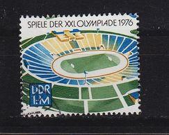 GERMANY DDR [1976] MiNr 2132 ( OO/used ) Olympiade - DDR