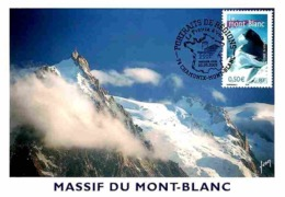 YT 3602 - Le Mont Blanc - Carte Maximum 2003 - Cartas Máxima