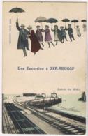 Une Excursion à ZEE-BRUGGE Entrée Du Môle - Zeebrugge