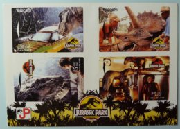 NEW ZEALAND - GPT Set Of 4 - Jurassic Park - NZ-A-21/24 - MINT In Folder - Nieuw-Zeeland