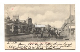 Pretoria - Church Street, Central - 1905 Used South Africa Postcard - Zuid-Afrika