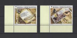 BOSNIE-HERZEGOVINE. YT  N° 587/588  Neuf **  2008 - Bosnie-Herzegovine