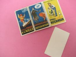 """Petit Carnet De Feuilles De Papier à Cigarettes/""""Les Dernières Cartouches""""/HUTCHINSON/Pneu Chaussure/Vers 1930    VPN222 - Tabac (objets Liés)"""