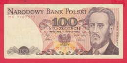 248162 / 1986 -  100 Zlotych - Ludwik Waryński  Socialist Movement , Banknotes Banknoten Billets Banconote , Poland - Polen