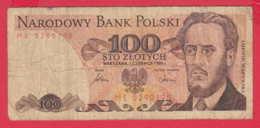 248164 / 1975 -  100  Zlotych - Ludwik Waryński -  Socialist Movement  , Banknotes Banknoten Billets Banconote , Poland - Poland
