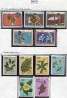 14607 CUBA Collection Vendue Par Page N° 1372/6, 1377/82 */ **  1970  TB - Ungebraucht