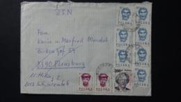 Poland - 1985/88/89 - Mi:PL 2986,3174,3196 - Yt:PL 2798,2975,2981 On Envelope - Look Scan - 1944-.... Republik