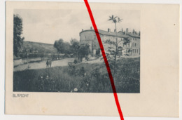 Blamont - 1916 - Stempel Feld-Art.-Regiment 47 - Armee-Abt. Falkenhausen - Verlag: Edmund Mohr, Saarburg - Montbéliard