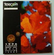 New Zealand - GPT - Canadian Maple Leaf Gold Bullion - NZ-IP-2 - 250 Ex - International Collector Folder - Mint - Nueva Zelanda