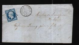 Lettre De L'Isle Sur Le Doubs Avec N°14 - Storia Postale