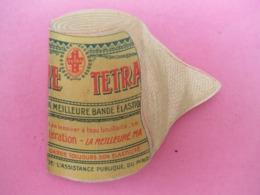 Petit Dépliant D'échantillon Publicitaire/ Pharmacie/Pansement TETRA La Meilleure Bande élastique//Vers 1930    VPN210 - Altri
