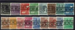 Allemagne - Bizone - 1948 - Série N° 21 à 36 - Type II - Neufs Sans Charnières - XX - MNH - TB - - Bizone