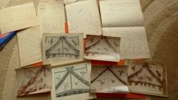ROUSSINES (Indre /Bas Berry) Photos Des Peintures Murales De L'Église + Dessins-relevés + Notes Historiques-fresques. - Orte