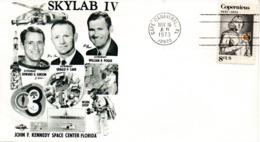 "(BuB1) USA, Sonderumschlag ""SKYLAB IV"" EF USA Mi 1095 ""Kopernikus"" NOV 16 AM 1973 CAPE CANAVERAL - United States"