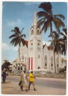 °°° 13963 - TANZANIA - DAR ES SALAAM - CATHOLIC CHURCH - 1966 With Stamps °°° - Tanzania