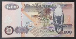 RS - Zambia 100 Kwacha 2006 P-38 Banknote - Zambia