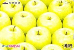 FRUIT - POMME - Carte Prépayée Japon - Lebensmittel