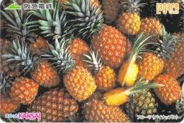 FRUIT - ANANAS - Carte Prépayée Japon - Lebensmittel