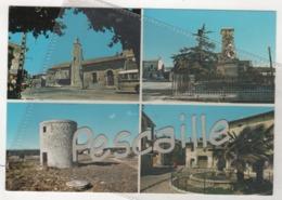 30 GARD - CP 4 VUES AIGUES VIVES - EDITIONS DU VIEUX PORT MARSEILLE N° 352 - Aigues-Vives