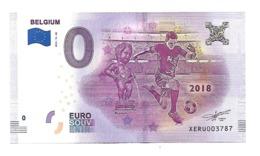 BILLET 0 EURO  Belgique Football - Andere