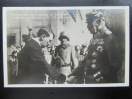 Postkarte Propaganda Hitler Mit Hindenburg 1933 - Allemagne