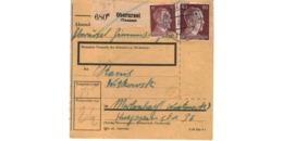 Allemagne  - Colis Postal  - Départ Oberursel  -  17-6-43 - Allemagne