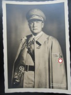 Postkarte Propaganda Reichsmarschall Göring - Briefe U. Dokumente