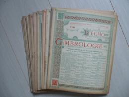 Echo De La Timbrologie Année 1933 Complète - Magazines