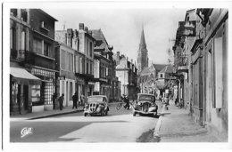 ! - France - Bergerac - La Rue D'Alsace-Lorraine Et La Cathédrale - 2 Scans - Bergerac