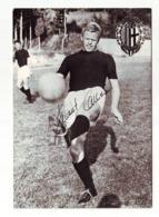Bologna FC, Helmut Haller CALCIO FOOTBALL Authograph - Autographes
