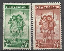 New Zealand 1942 Mi 273-274 MNH ( ZS7 NZL273-274 ) - Non Classificati
