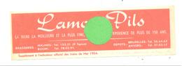 """Marque-pages Bilingue - Bière """" LAMOT Pils """" Brasserie - Malines/Mechelen Et Boom - Bières ( B260) - Marque-Pages"""