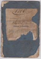 ST GEORGES- Livret D'ouvrier(e) Délivré Le 2 Mars 1848  à CHABOT Caroline Née Le 8 Mai 1836 Entré à La Vieille MONTAGNE - Wetten & Decreten