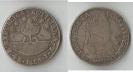 BOLIVIE  4  SOL  1830    ARGENT  RARE ! - Bolivie