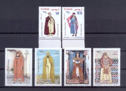 Tunisia/Tunisie 2019 - Stamps - Euromed - Joint Issue Tunisia/Algeria -Mediterranean Costumes - MNH** Excellent  Quality - Tunisia (1956-...)