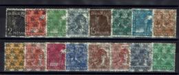Allamagne - Bizone - 1948 - Série Surchargée N° 21/36 (sauf N° 22) Neufs Sans Charnières - XX - MNH - TB - - Bizone