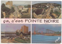 °°° 13969 - CONGO - POINTE NOIRE VIEWS - 1996 With Stamps °°° - Pointe-Noire