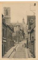 CPA - France - (58) Nièvre - Nevers - Rue De La Cathédrale Et L'Evêché - Nevers