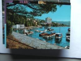 Kroatië Croatia Kroatien Croatie Opatija Harbour Boats - Kroatië
