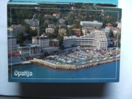 Kroatië Croatia Kroatien Croatie Opatija Harbour Boats And City View - Kroatië