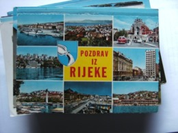 Kroatië Croatia Kroatien Croatie Rijeke Pozdrav - Kroatië