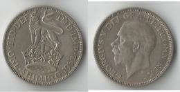 GRANDE BRETAGNE 1 SHILLING  1932    ARGENT - I. 1 Shilling