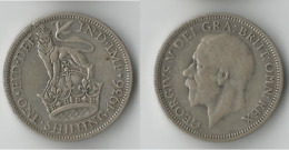 GRANDE BRETAGNE 1 SHILLING  1936    ARGENT - I. 1 Shilling
