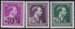 Belgie    .    OBP   .    724  B/D/F    .    **  .    Postfris ZONDER  Charnier    .  / .  Neuf SANS  Charniere - Neufs