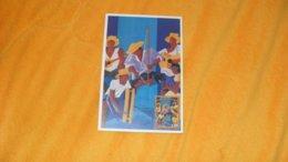 CARTE POSTALE DE 2002..LA POLYNESIE EN FETE D'APRES UN TABLEAU DE P. DUBOIS..CACHET PAPEETE PREMIER JOUR + TIMBRE - Cartes-maximum